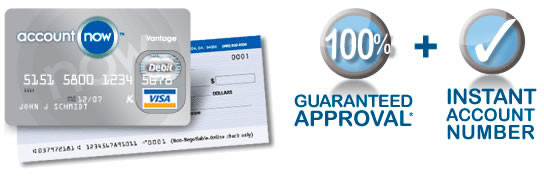 Guaranteed approval and Instant Account Number