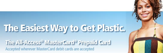All-Access MasterCard Prepaid Card from MetaBank