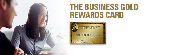 American Express Business Rewards Gold Card