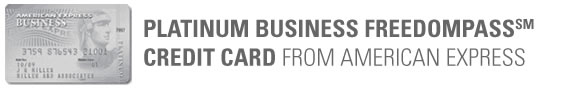 American Express Platinum Business FreedomPass