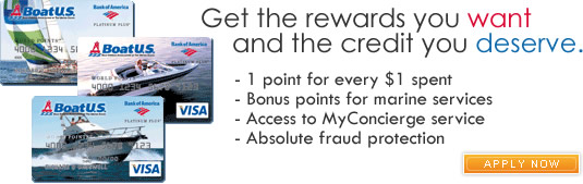 Announcing the BoatUS Platinum Plus Visa Card with WorldPoints Rewards