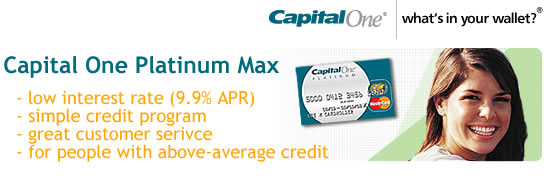 Capital One Platinum Max Card