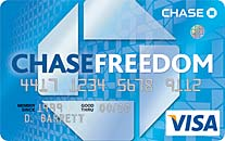 Chase Freedom Card with Points Rewards