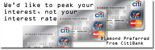 Citibank Preferred Diamond Credit Card