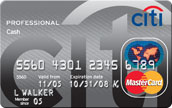 Announcing the Citi Professional Cash Card