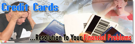 Worried about your financial situation? Credit Cards can help!
