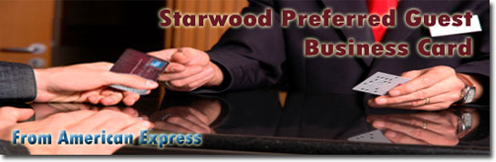Apply now for Starwood Preferred Guest Business Card From American Express!